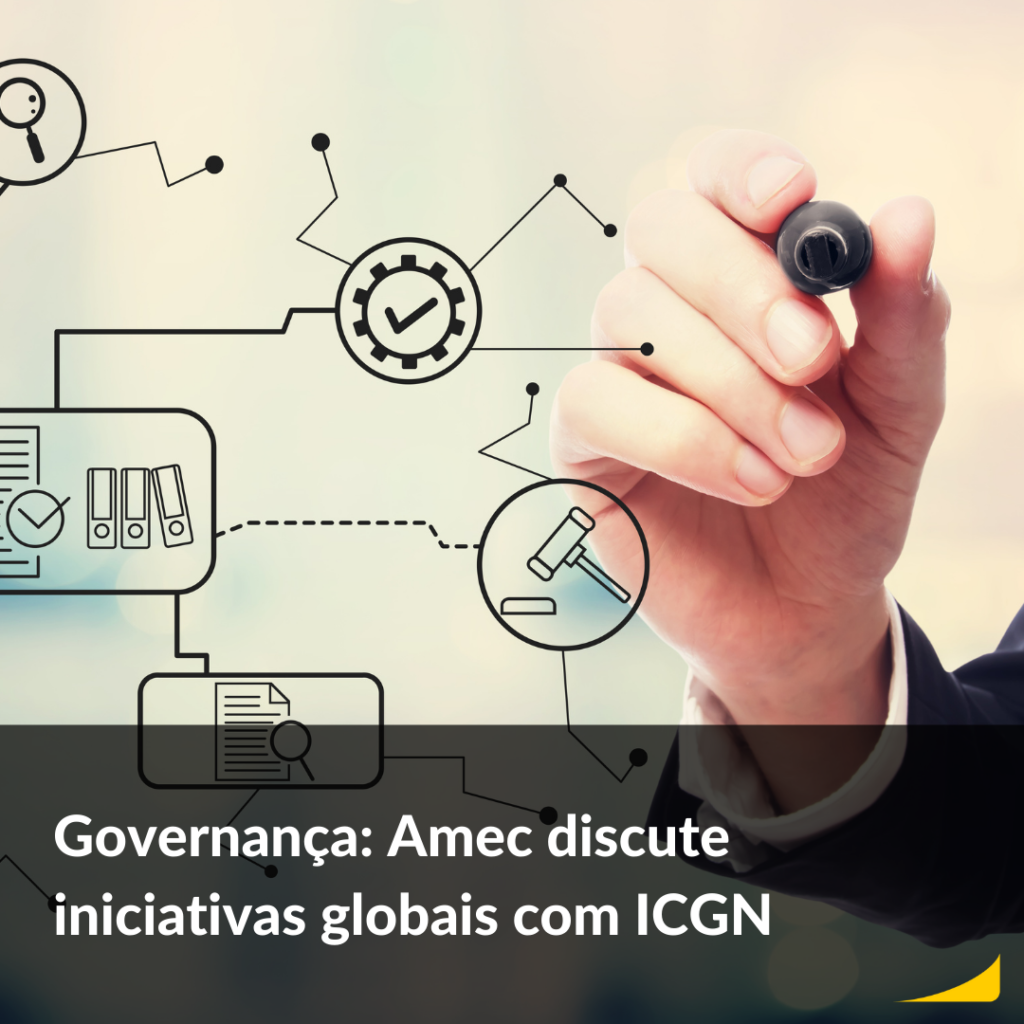 Governança: Amec discute iniciativas globais com ICGN